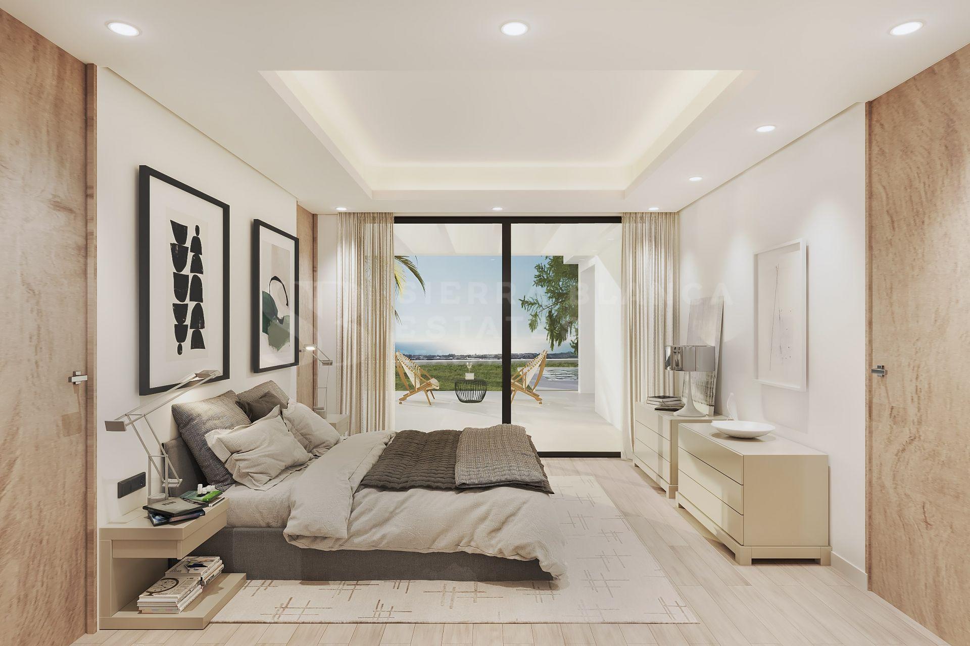 Villa contemporaine avec vue panoramique sur la mer à Los Flamingos