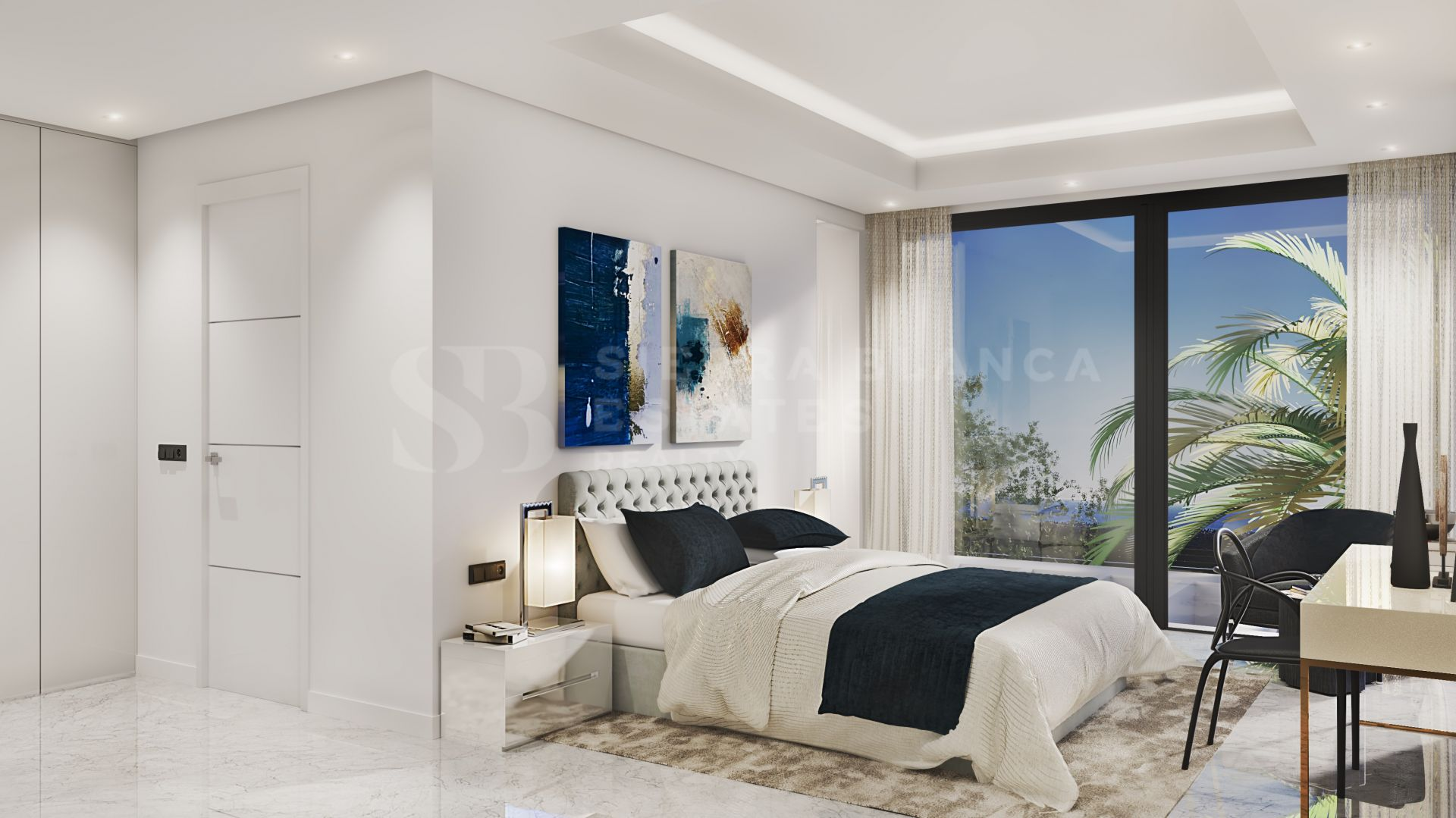 Brand New Home in the Exclusive Los Flamingos Golf Resort