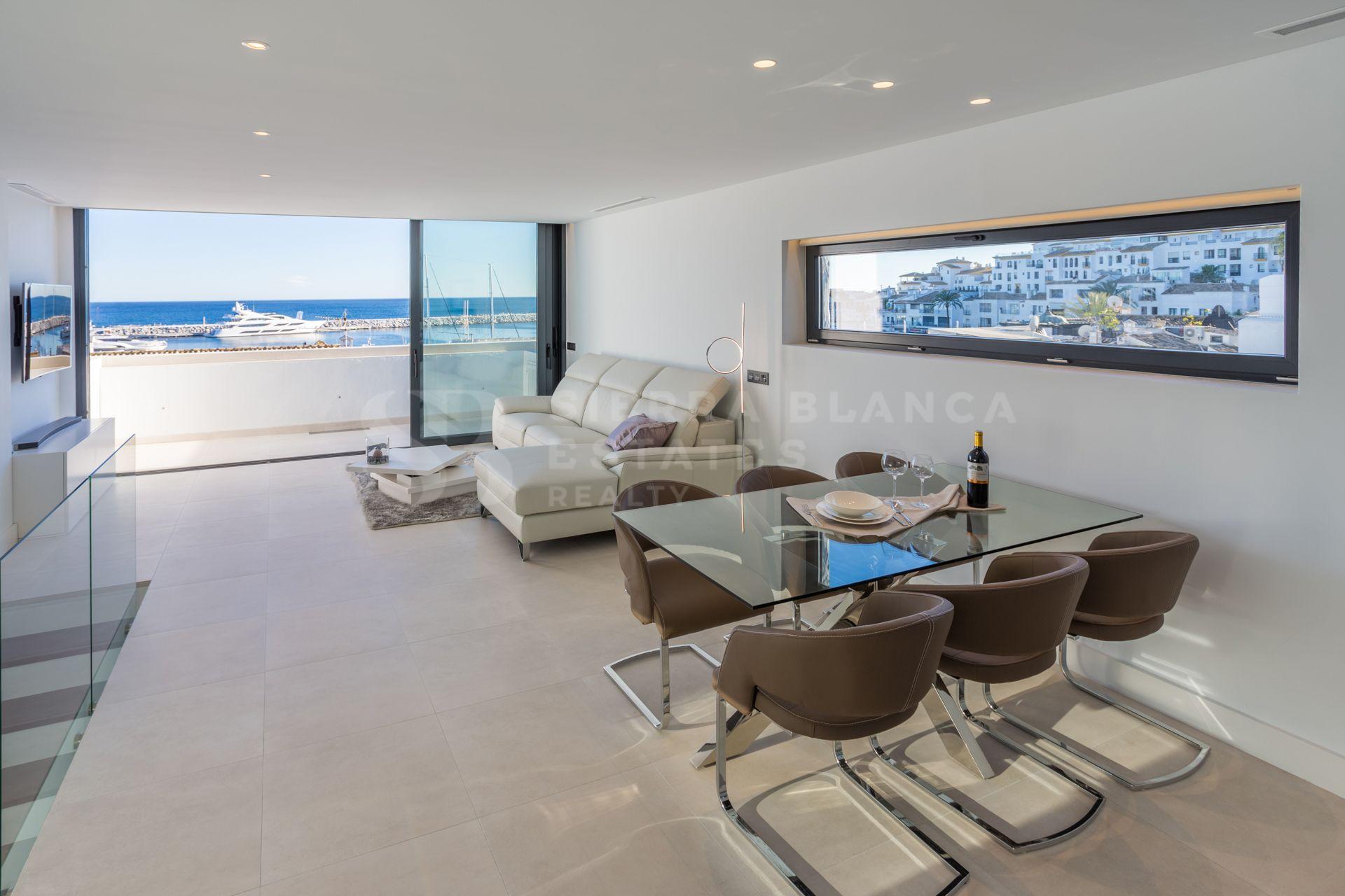 Fantastique Penthouse en Duplex au Coeur de Puerto Banus