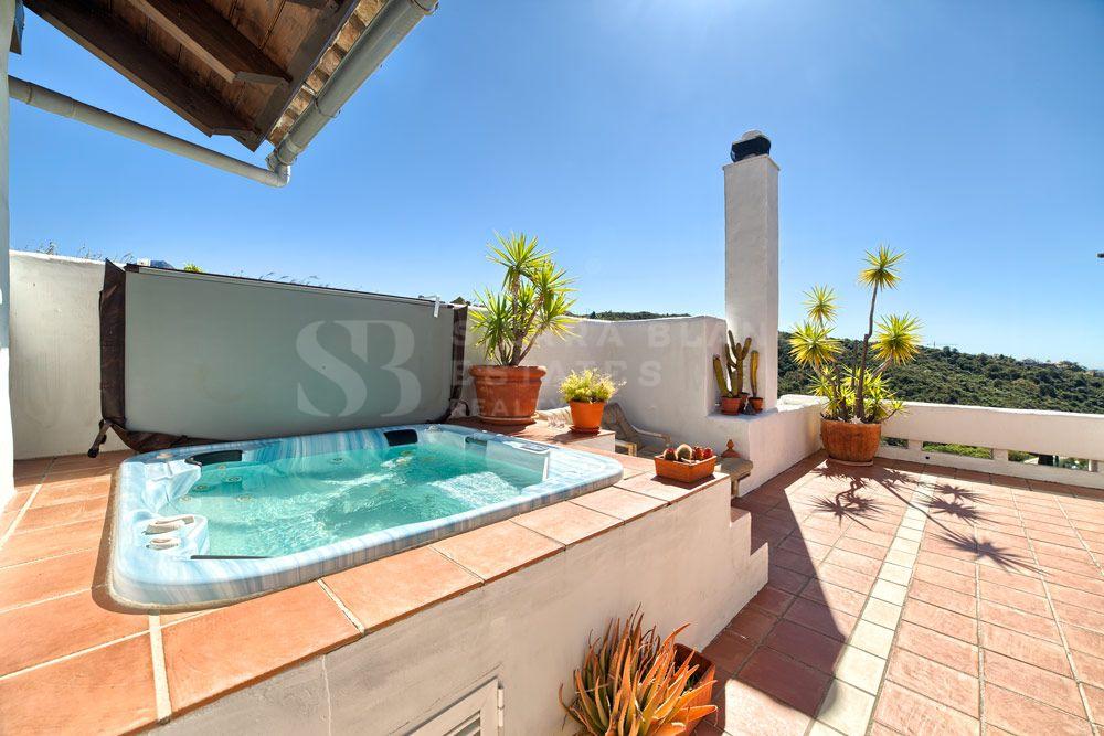 Superbe Penthouse en Première Ligne de Golf à La Quinta