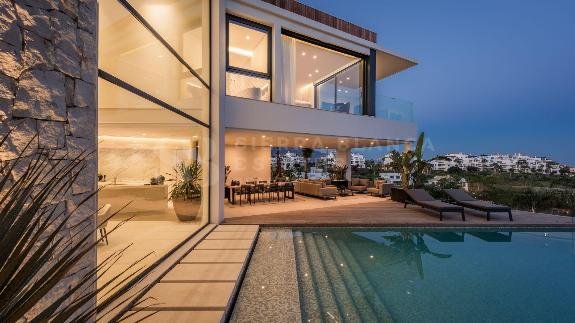 Contemporary Villa with Panoramic Sea Views in La Alquería