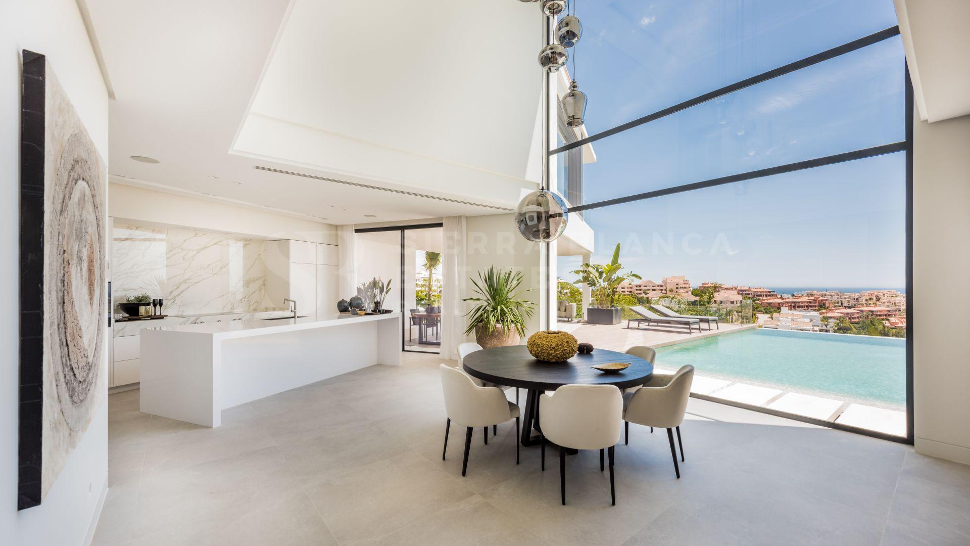 Villa contemporaine avec vue panoramique sur la mer à La Alquería