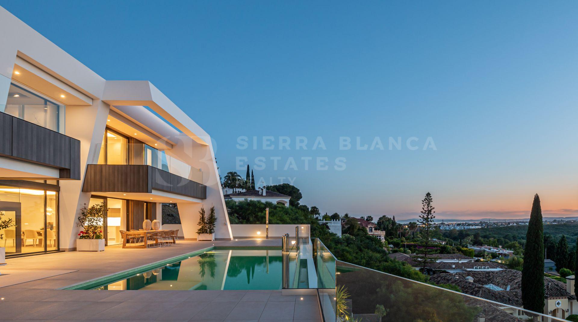 Light Blue Luxurious Villas