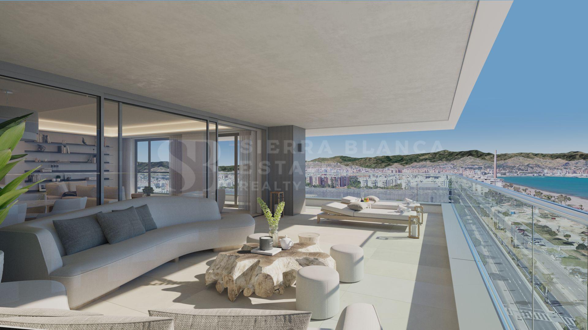 Málaga Towers - Luxury Beachfront Apartments in Malaga