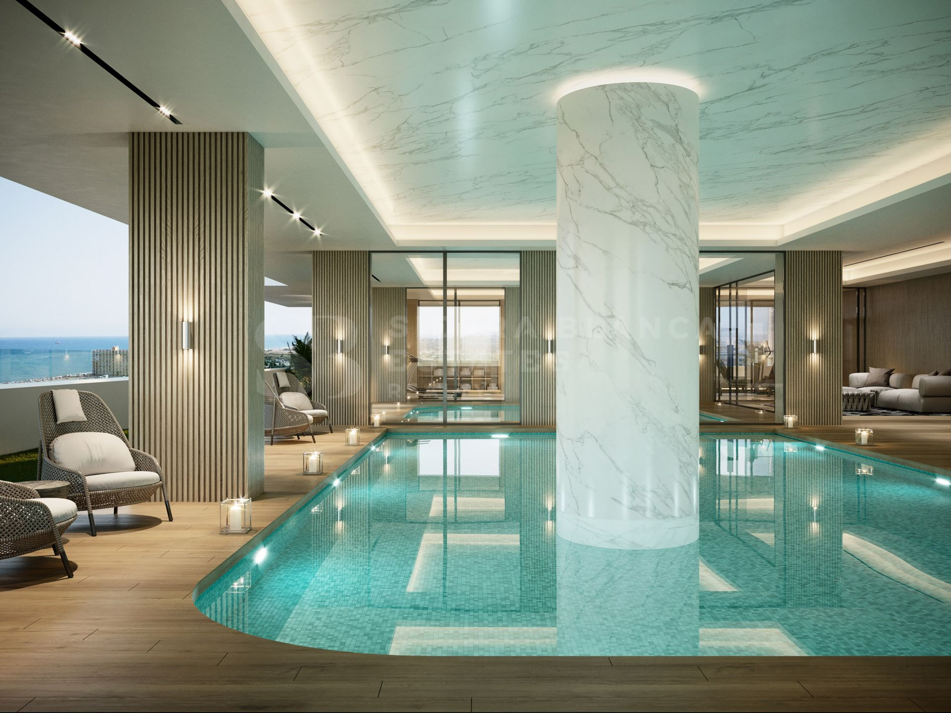 Sierra Blanca Tower - Luxury Beachfront Apartments in Malaga
