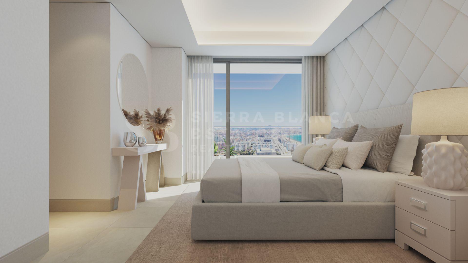Málaga Towers - Apartamentos de lujo en primera línea de playa en Malaga