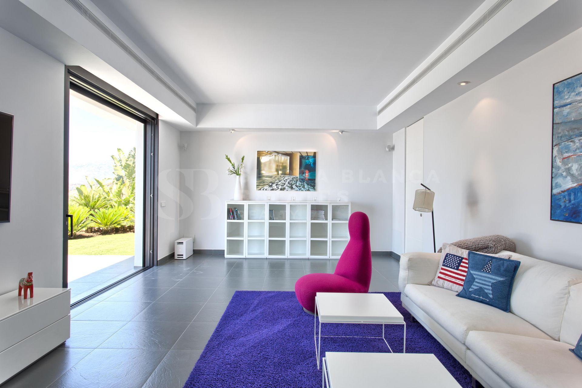Moderna villa en Los Flamingos