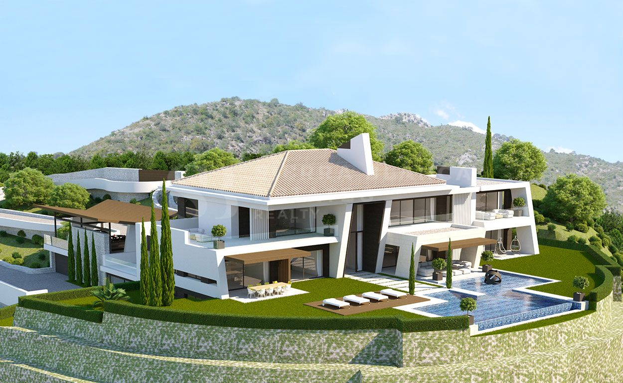 Plot with Villa Project in La Zagaleta
