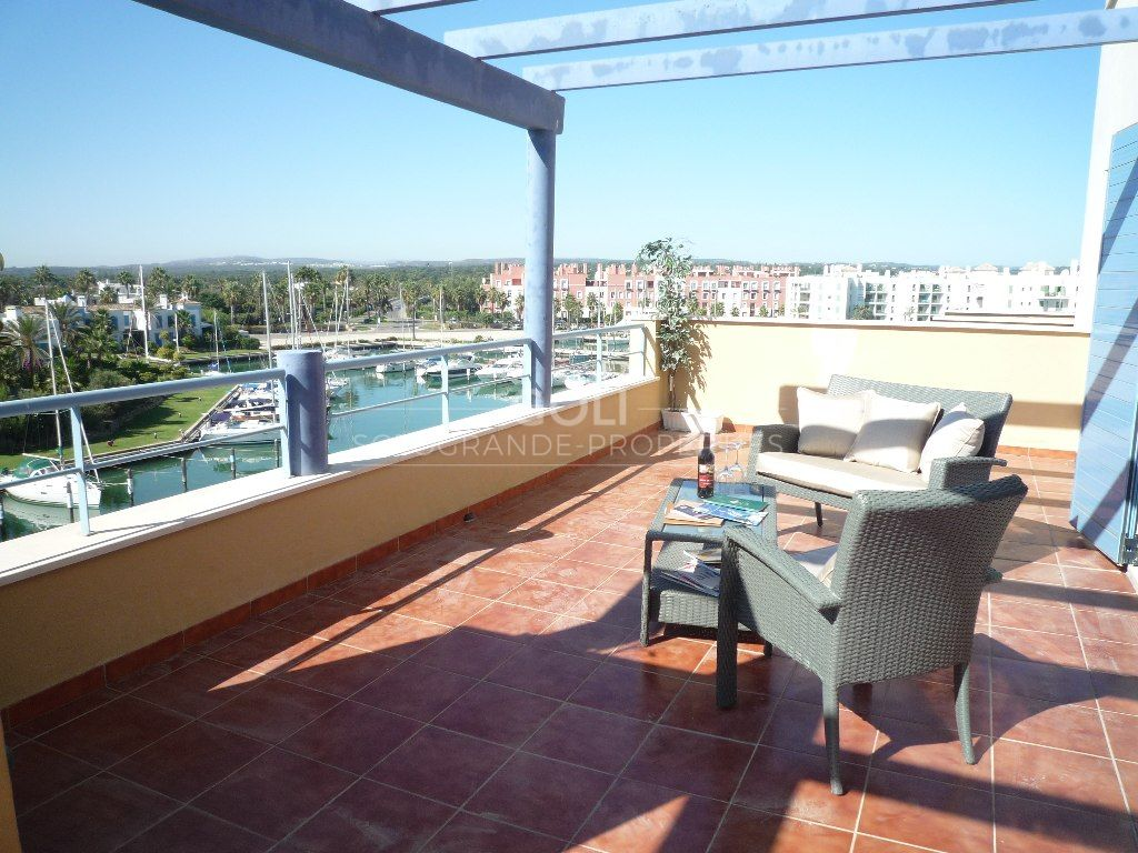 """A bright """"villa-in-the-sky"""" penthouse with superb views"""