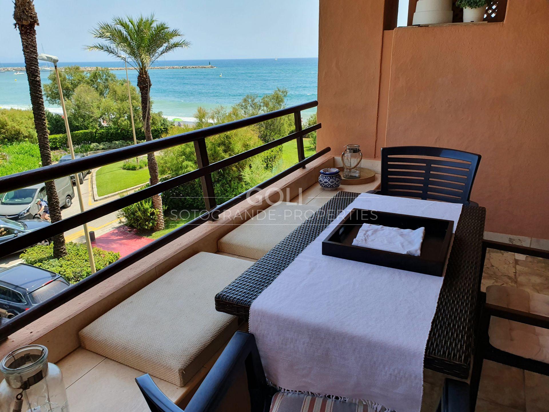 Encantador apartamento en Paseo del Mar, junto a la playa