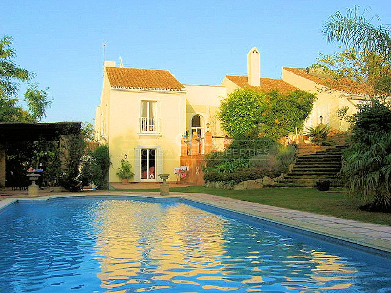 House in a quiet location in Lower Sotogrande