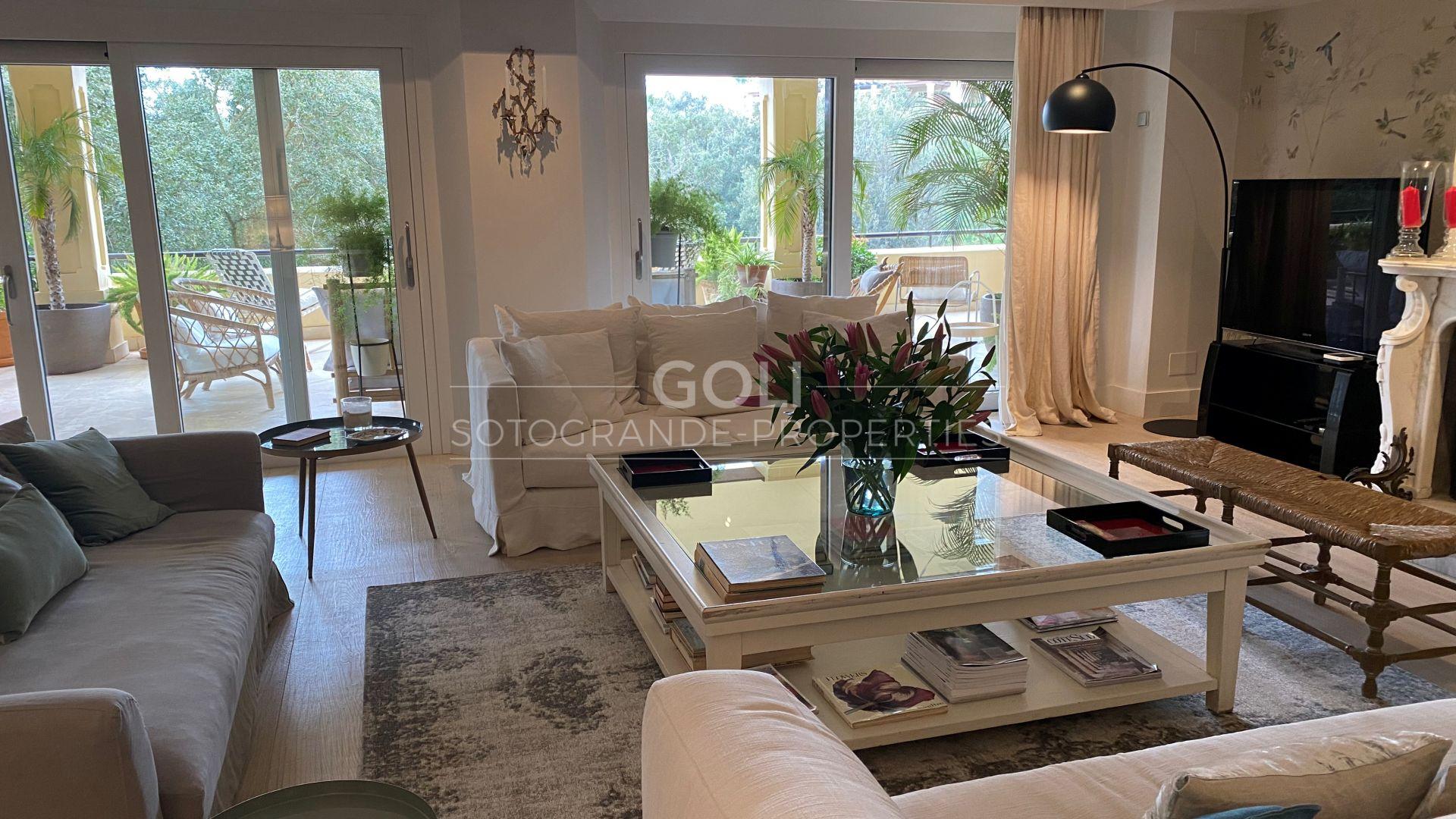 Fabuloso apartamento con acabados de calidad excepcional en Valgrande
