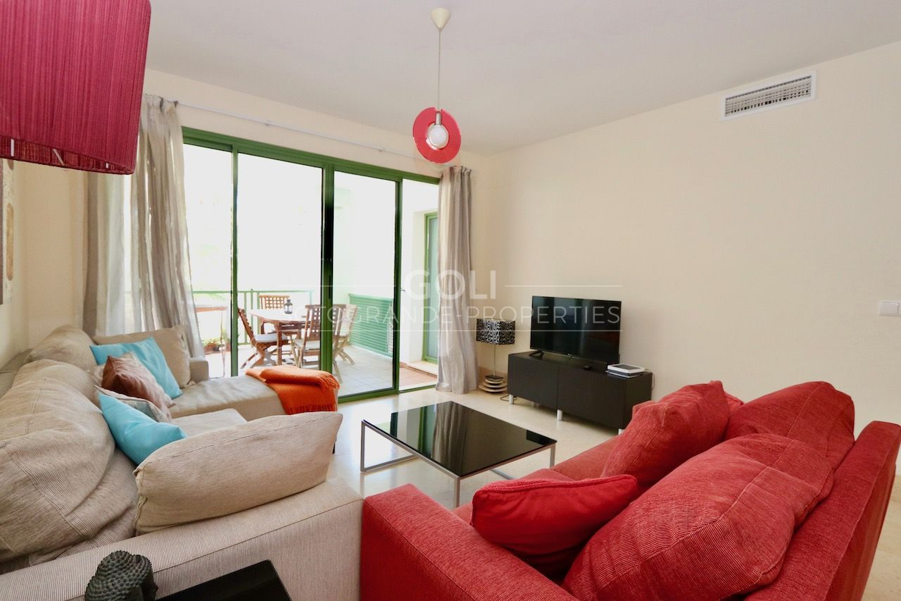 Two bedrooms apartment on Sotogrande Marina