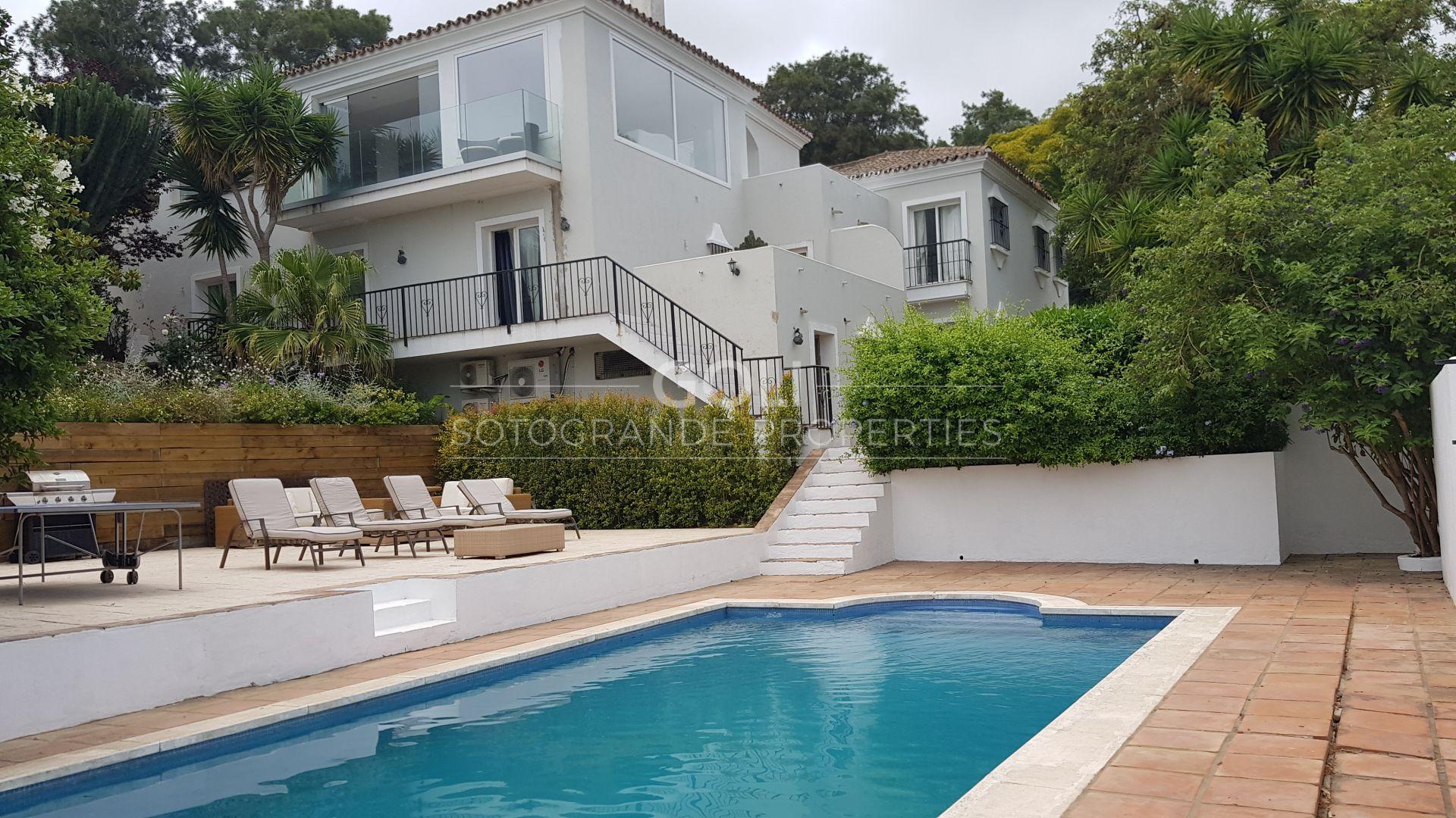 Villa with views of La Reserva
