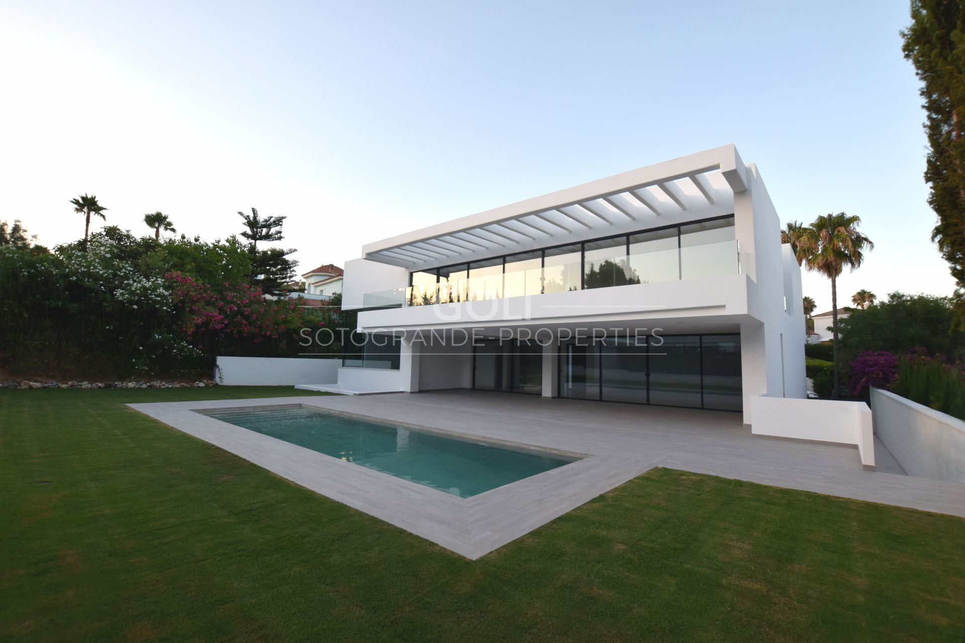 Brand new contemporary villa in Upper Sotogrande