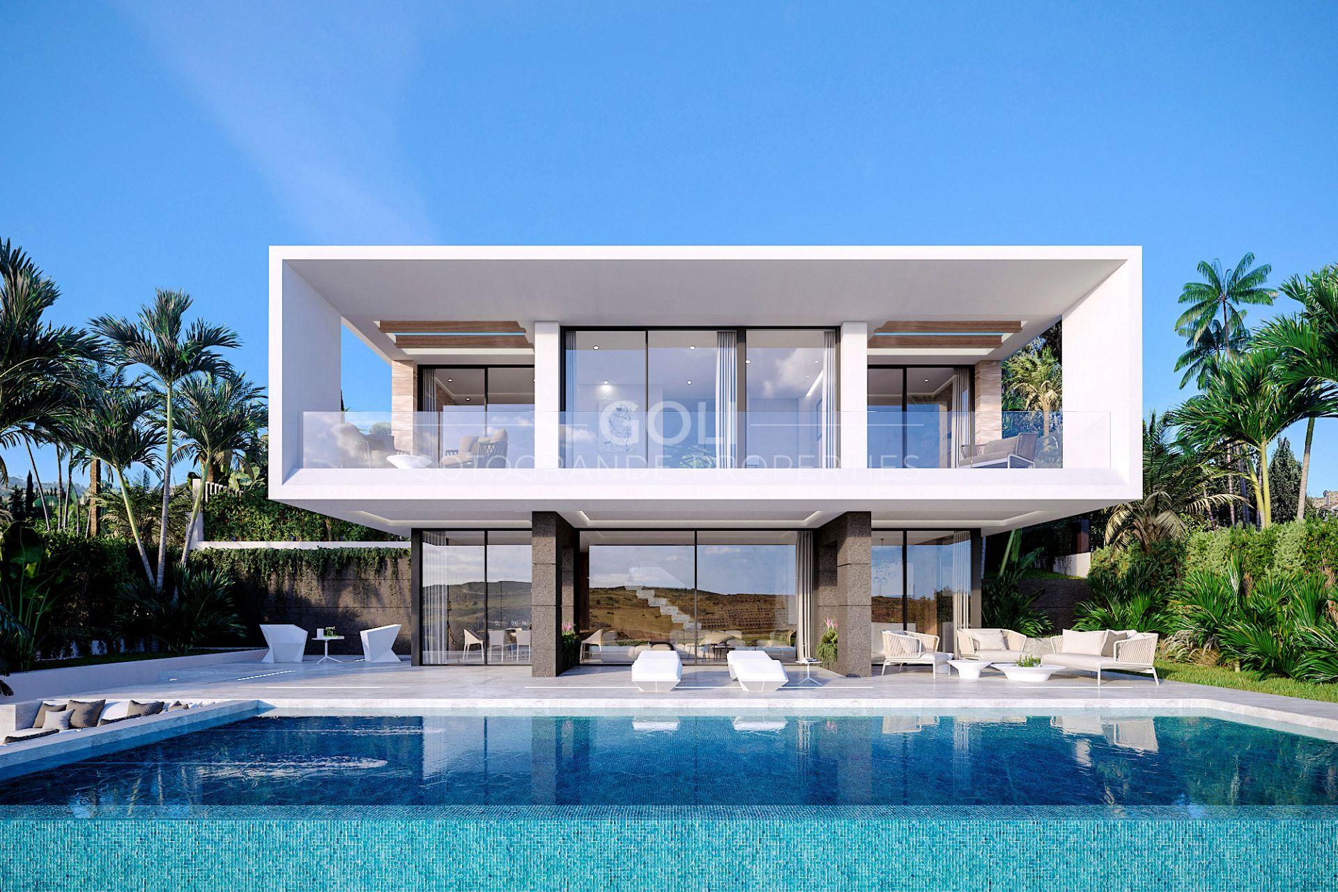 Contemporary style villas