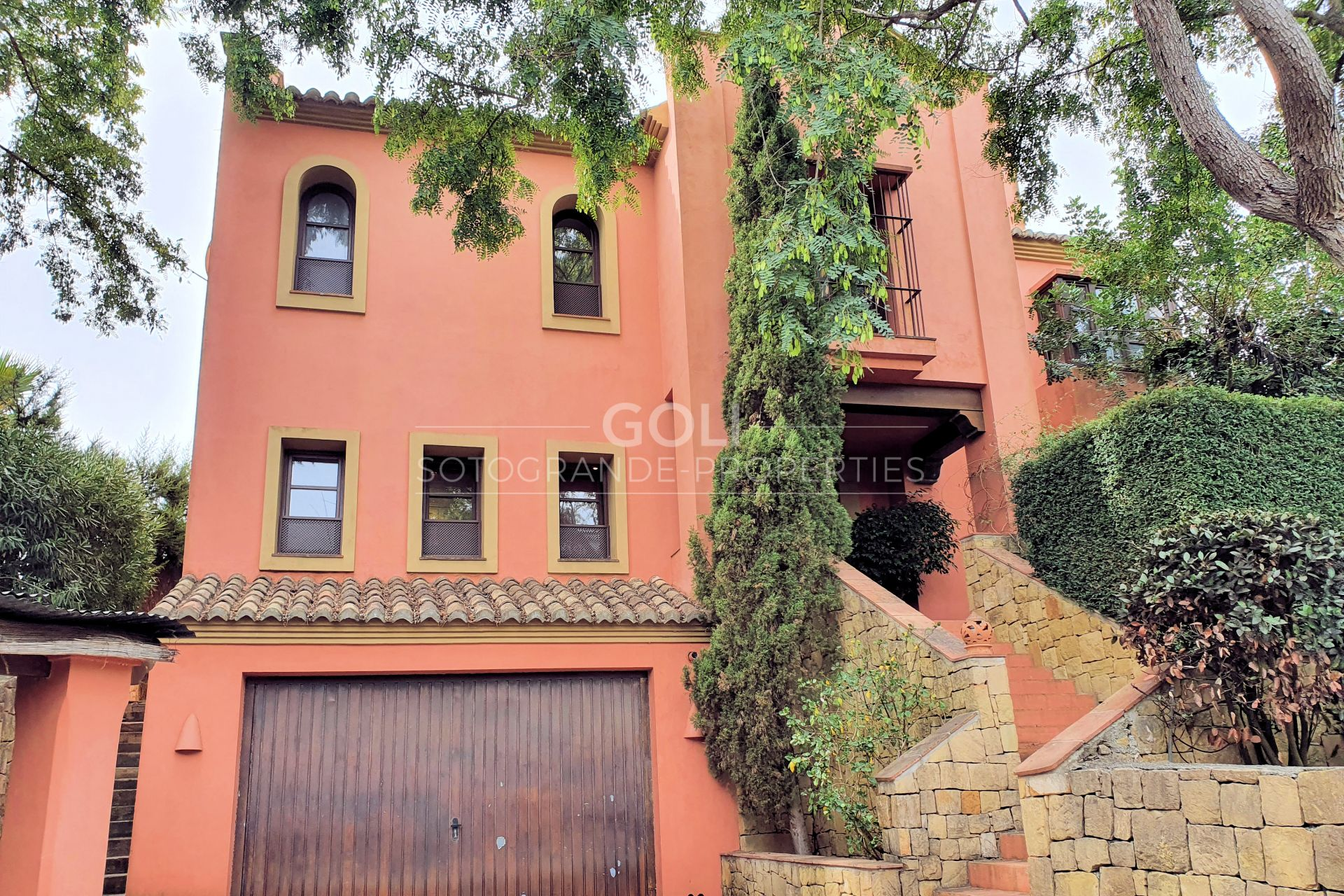 Well situated villa in Upper Sotogrande