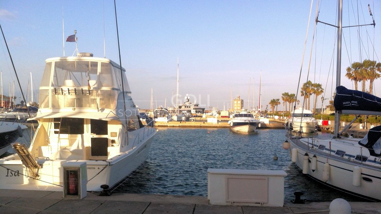15 meter berth for sale on Sotogrande Marina