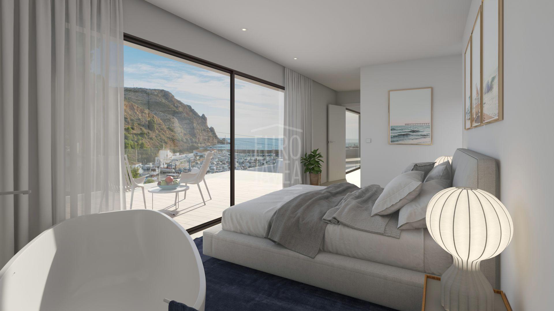 Villa de lujo en construcción a la venta en Primera Linea en Jávea con espectaculares vistas al mar