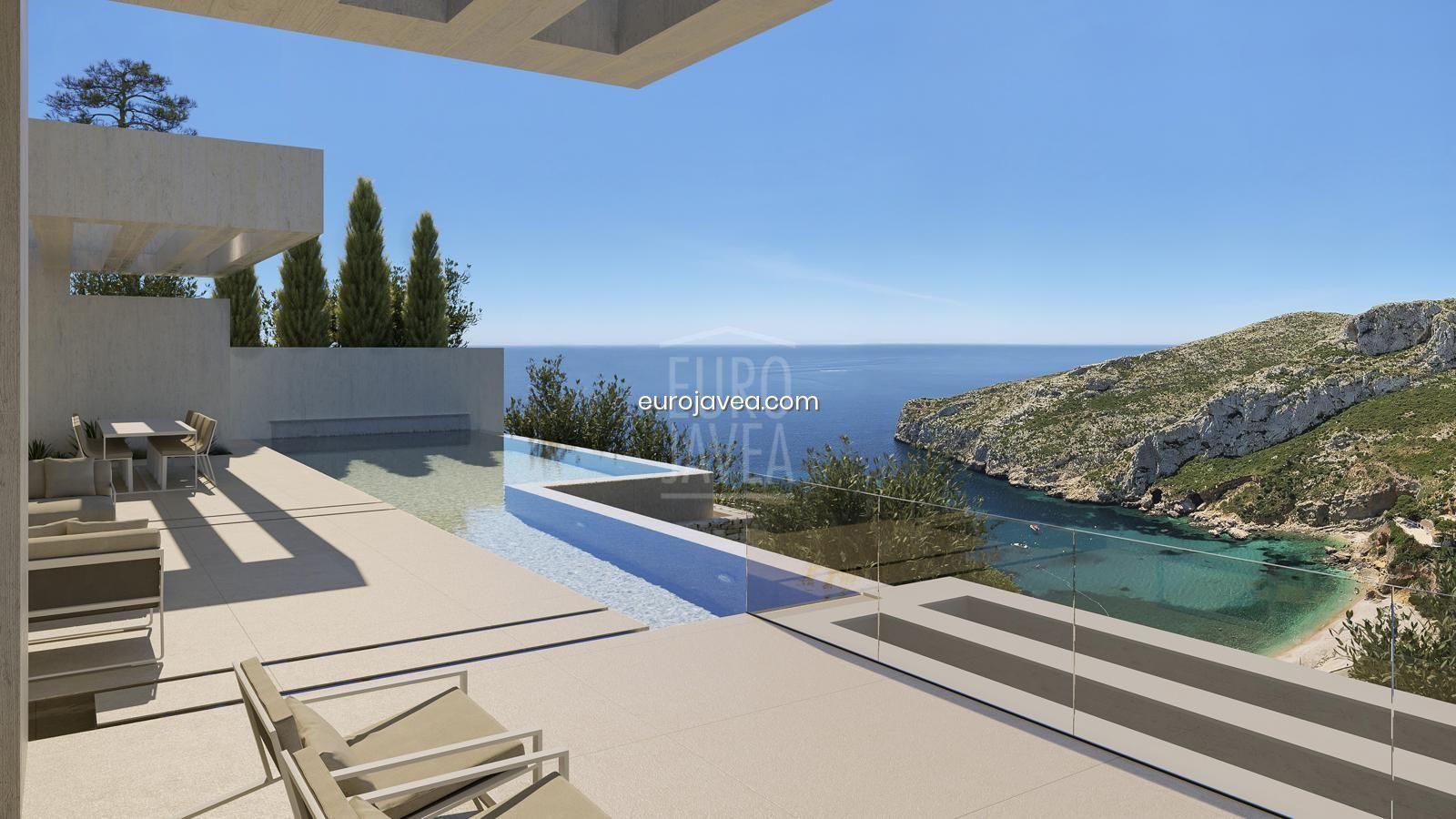 Luxurious project for sale in Jávea, located in one of the most prestigious area of La Granadella, with sea views.