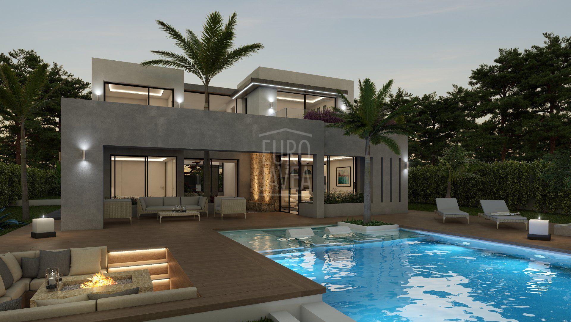 Project for sale in Jávea, under construction in the Costa Nova area