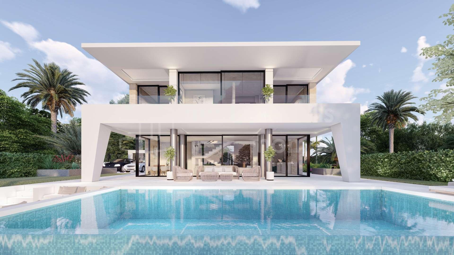 Neubau Projekt Von 42 Modernen Villen In Puerto De La Duquesa Manilva