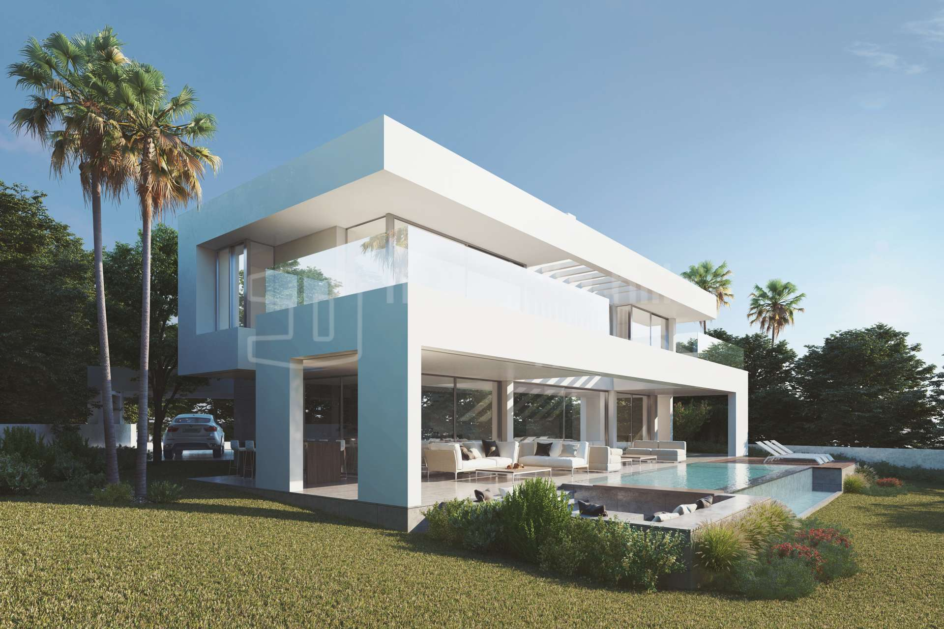 Nouveau projet de construction d 39 une superbe villa estepona for Vente projet de construction