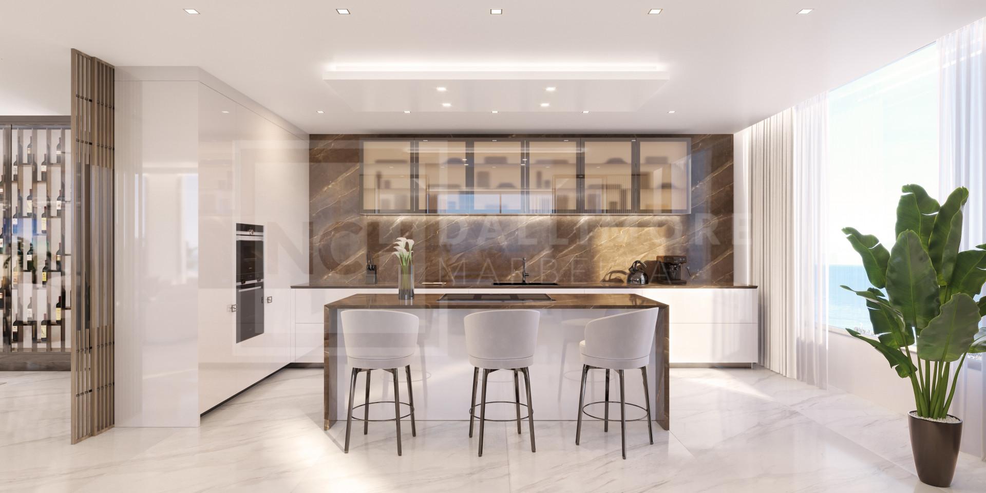 Duplex Penthouse , Marbella Golden Mile - NEWV6053