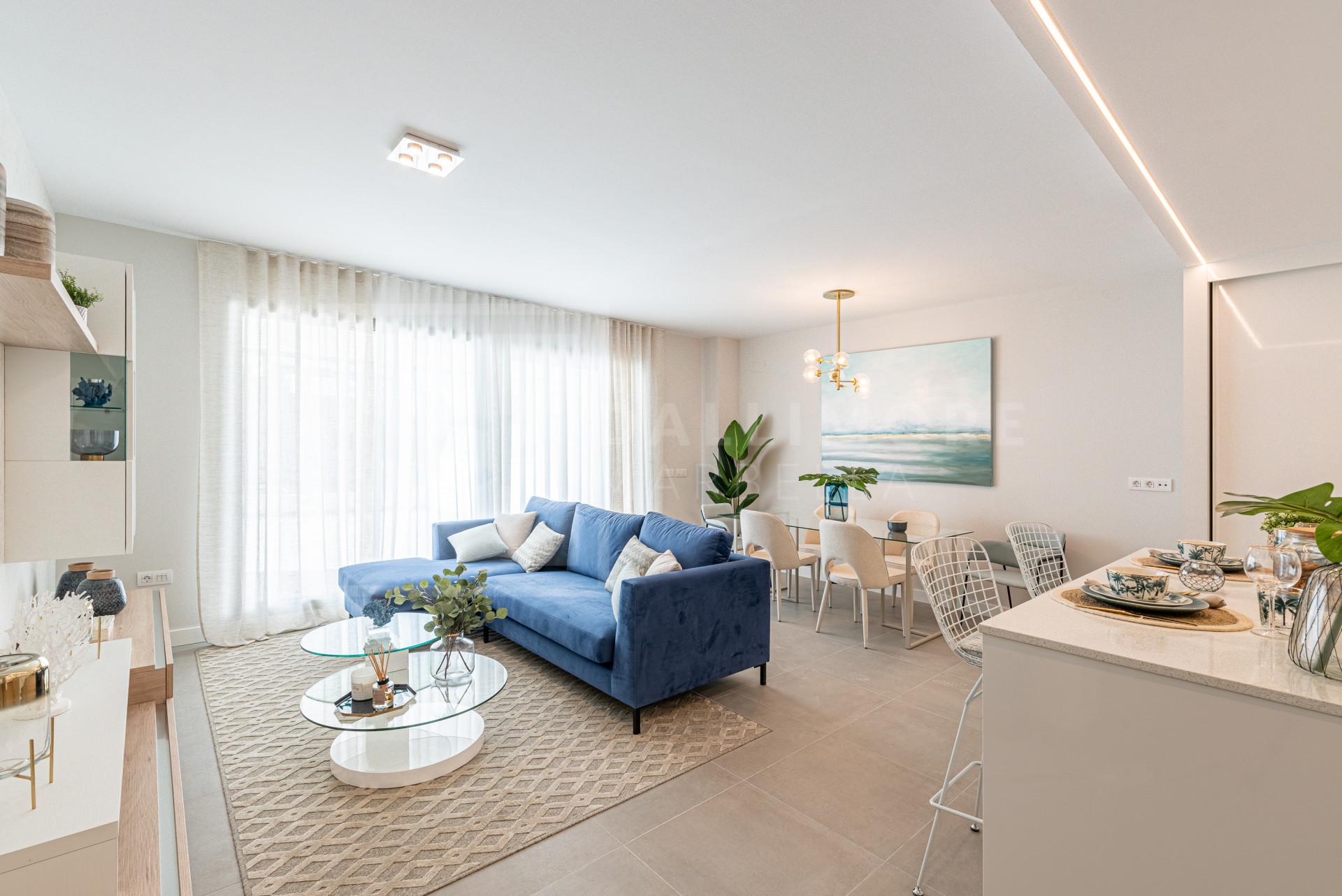 Ground Floor Apartment , Benalmadena – NEWA6174