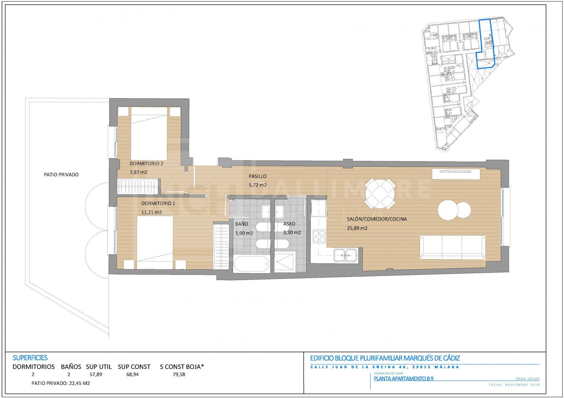 Apartment , Malaga - NEWA6586