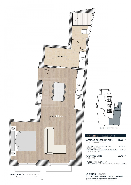Studio Centro Histórico, Malaga – NEWA6576