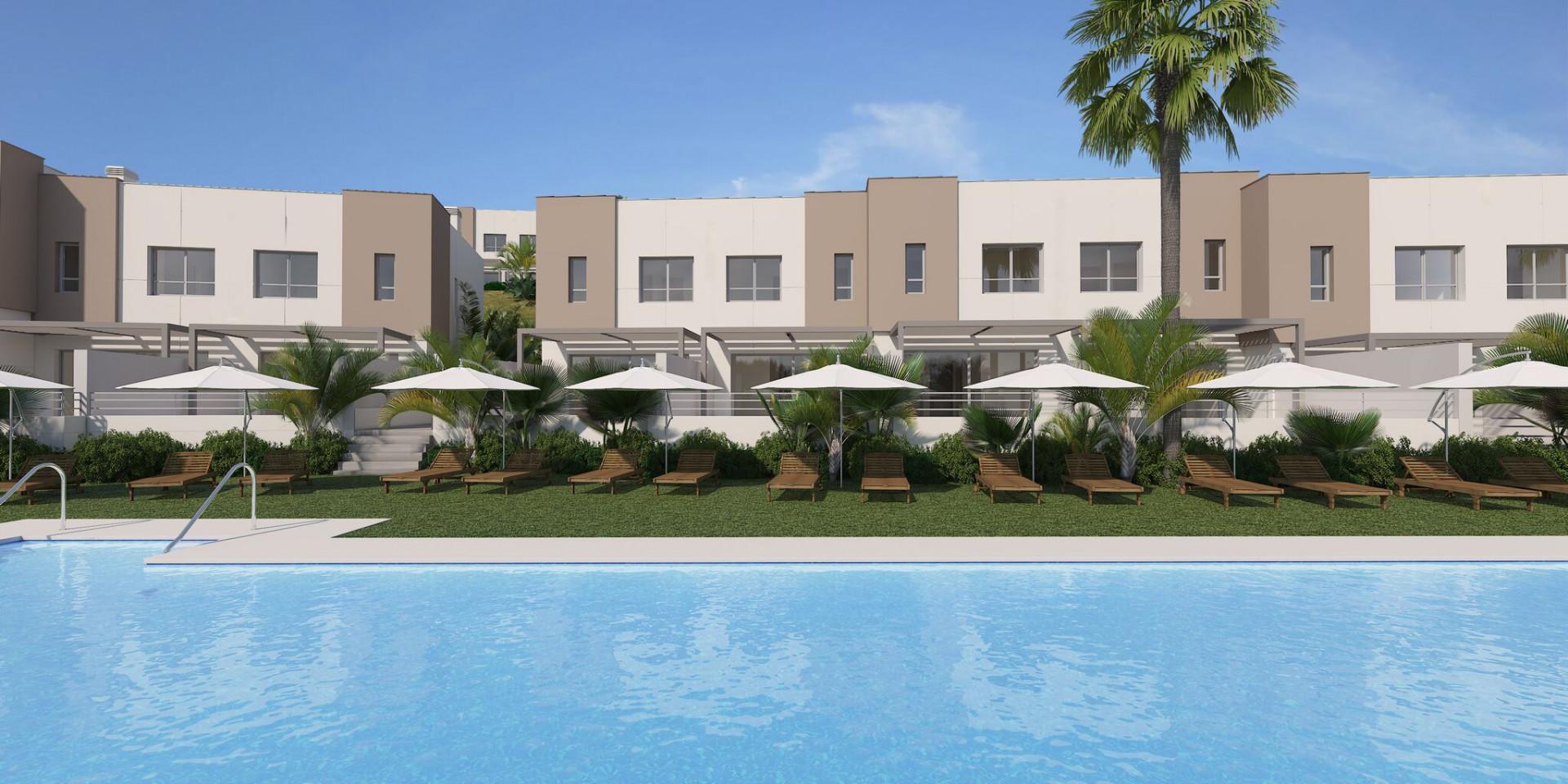 Town House for sale in Estepona Golf, Estepona