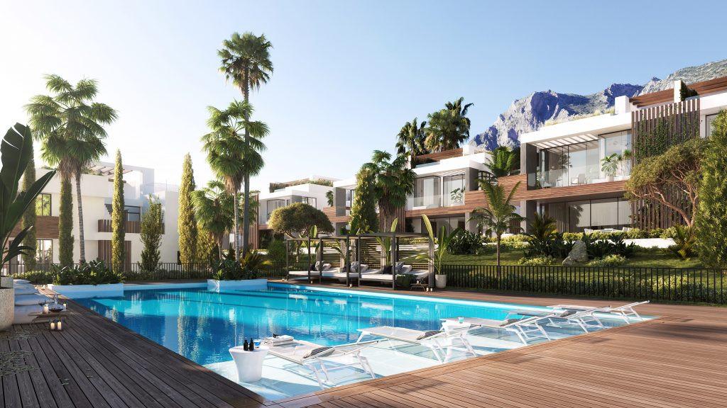 Off plan luxury modern villas for sale in Sierra Blanca – Marbella