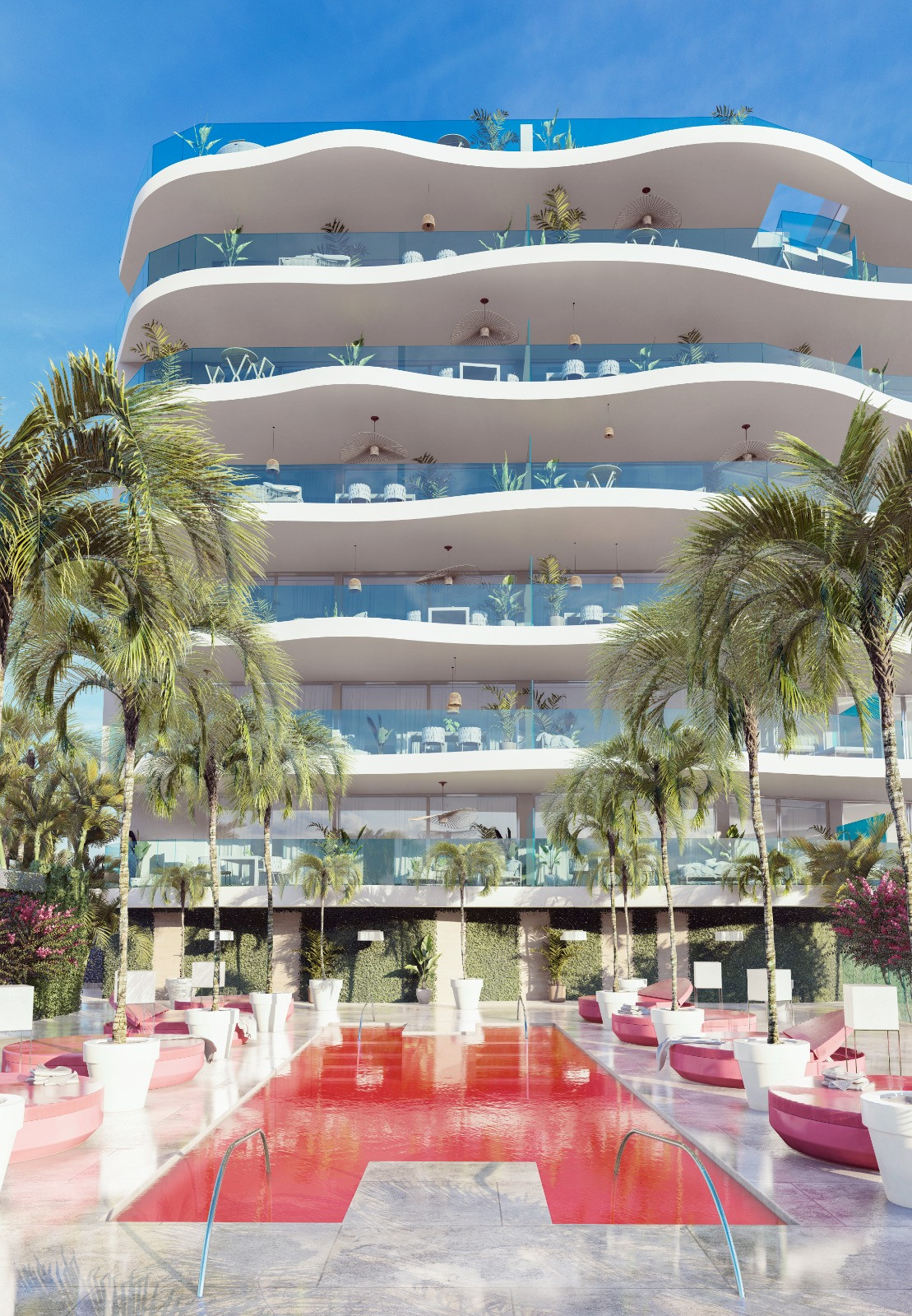 New contemporary apartments for sale in Benalmadena
