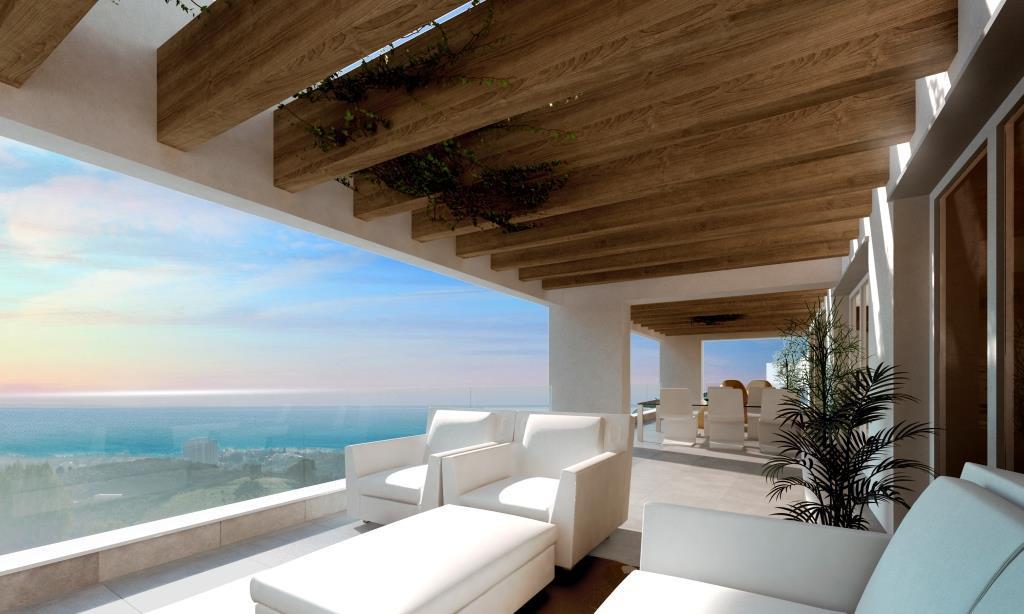 Newly built modern apartments for sale in Altos de los Monteros - Marbella