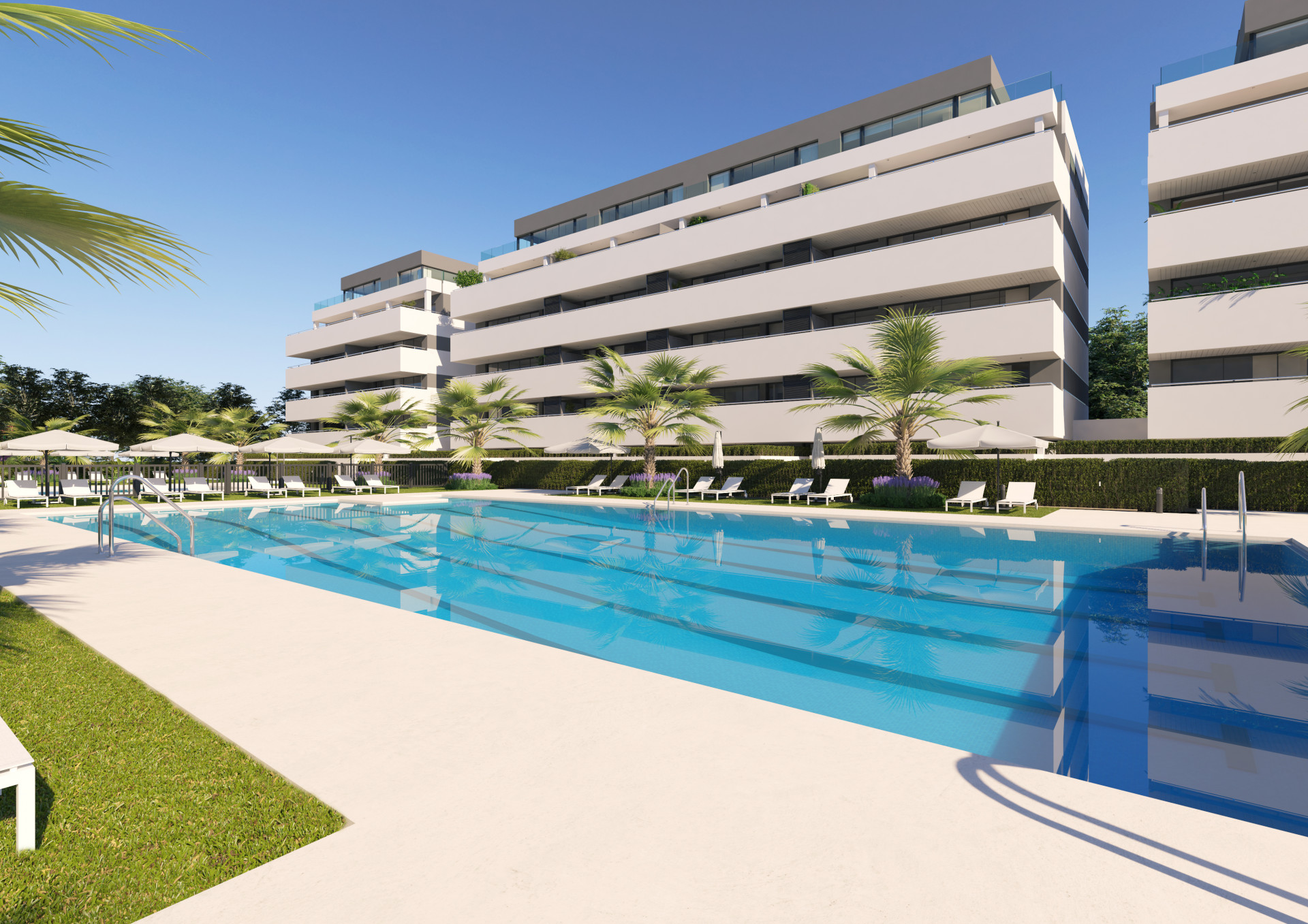 New modern apartments for sale in Torremolinos