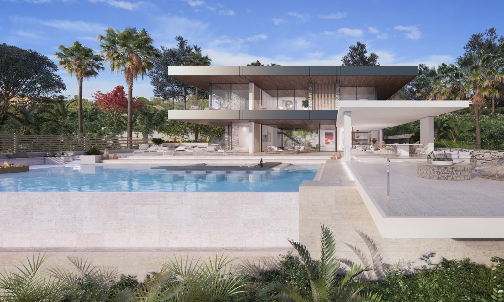 New contemporary villa for sale in Benahavis