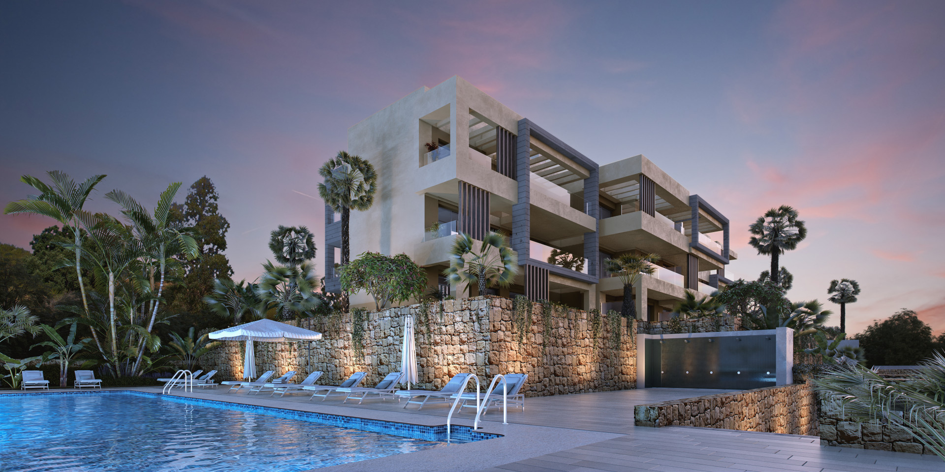 Newly built modern golf apartments for sale in La Cala Golf