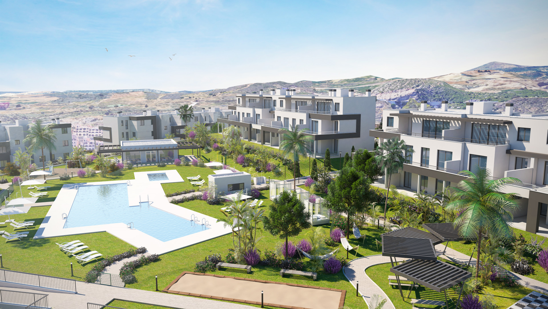 Brand new modern apartments for sale in Estepona