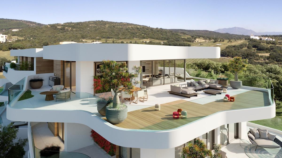 Apartamentos a estrenar en primera línea de golf en venta en Marina Sotogrande - Cádiz