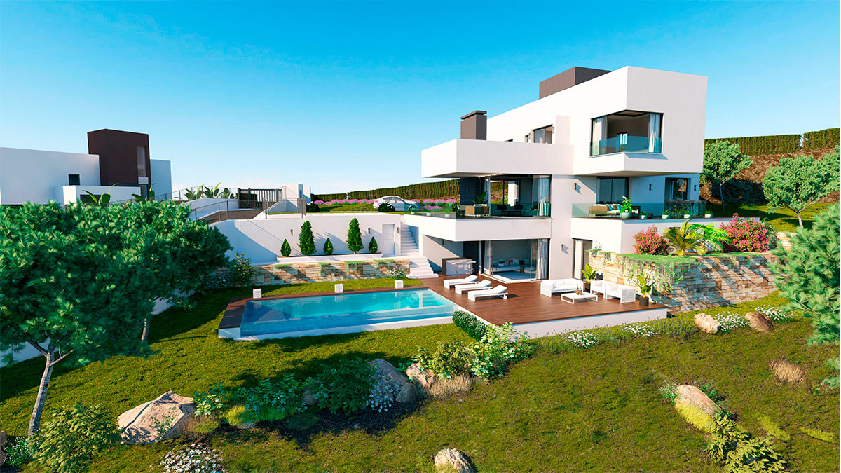 Brand new modern-contemporary villa for sale in Benahavis