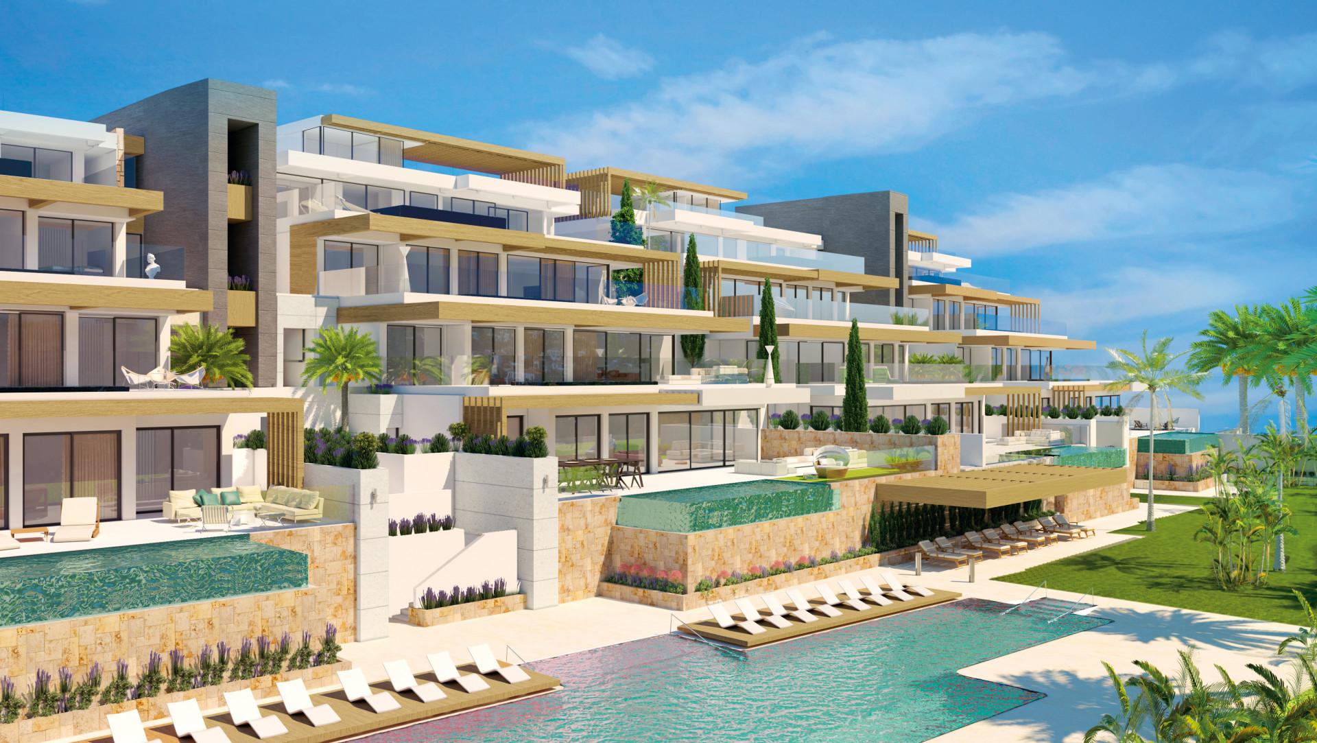 Luxe moderne appartementen en penthouses te koop in Benahavis