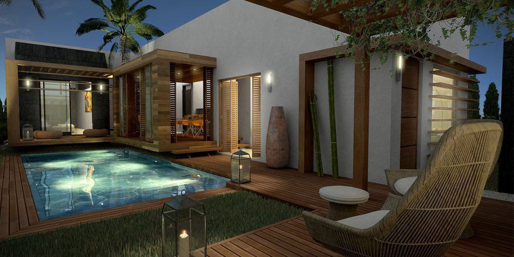 Off plan modern villa for sale in Buenas Noches – Estepona