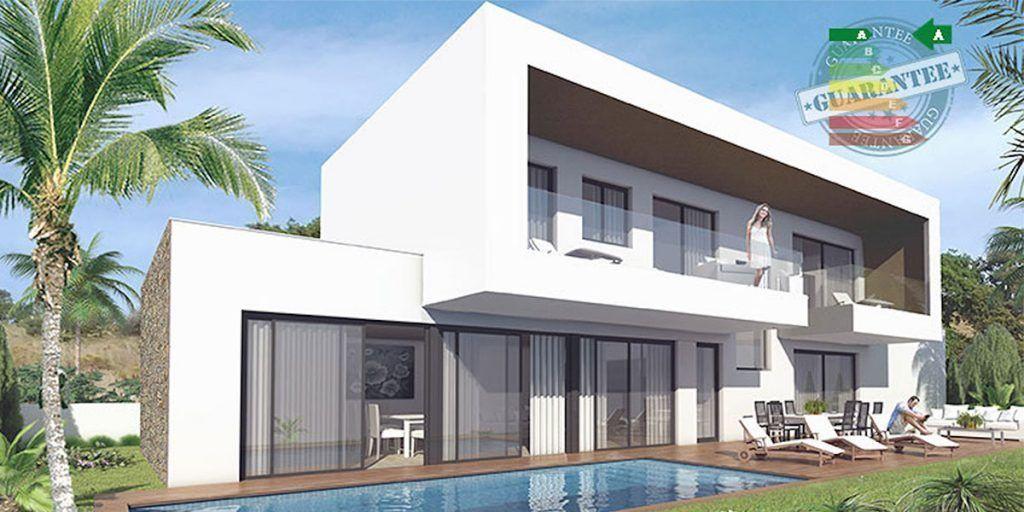 Off plan modern golf villa for sale in La Cala Resort - Mijas