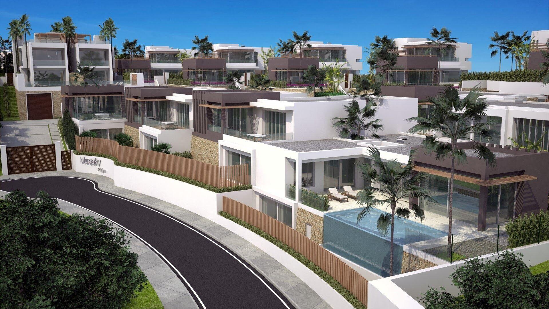 Luxury modern design villas in gated community for sale in Rivera del Sol - Mijas Costa – Mijas