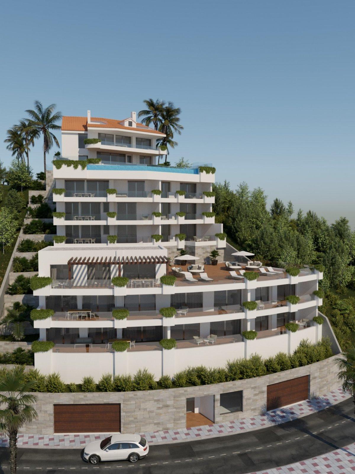 Off plan complex of modern apartments for sale in Nueva Torrequebrada – Benalmádena