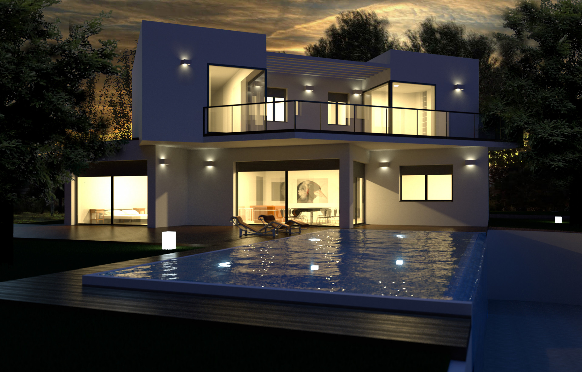 Fantastic modern contemporary villas for sale in Mijas