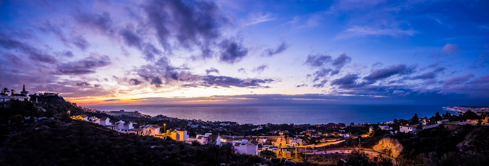 New project of contemporary apartments for sale in Benalmadena