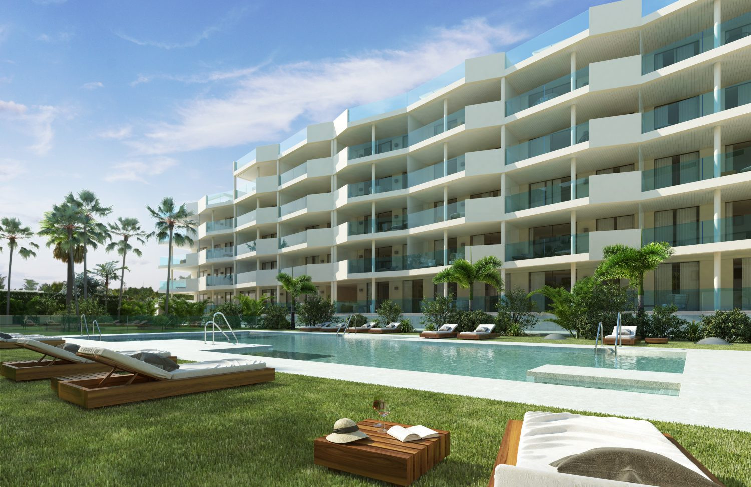 New modern style apartments for sale in Mijas