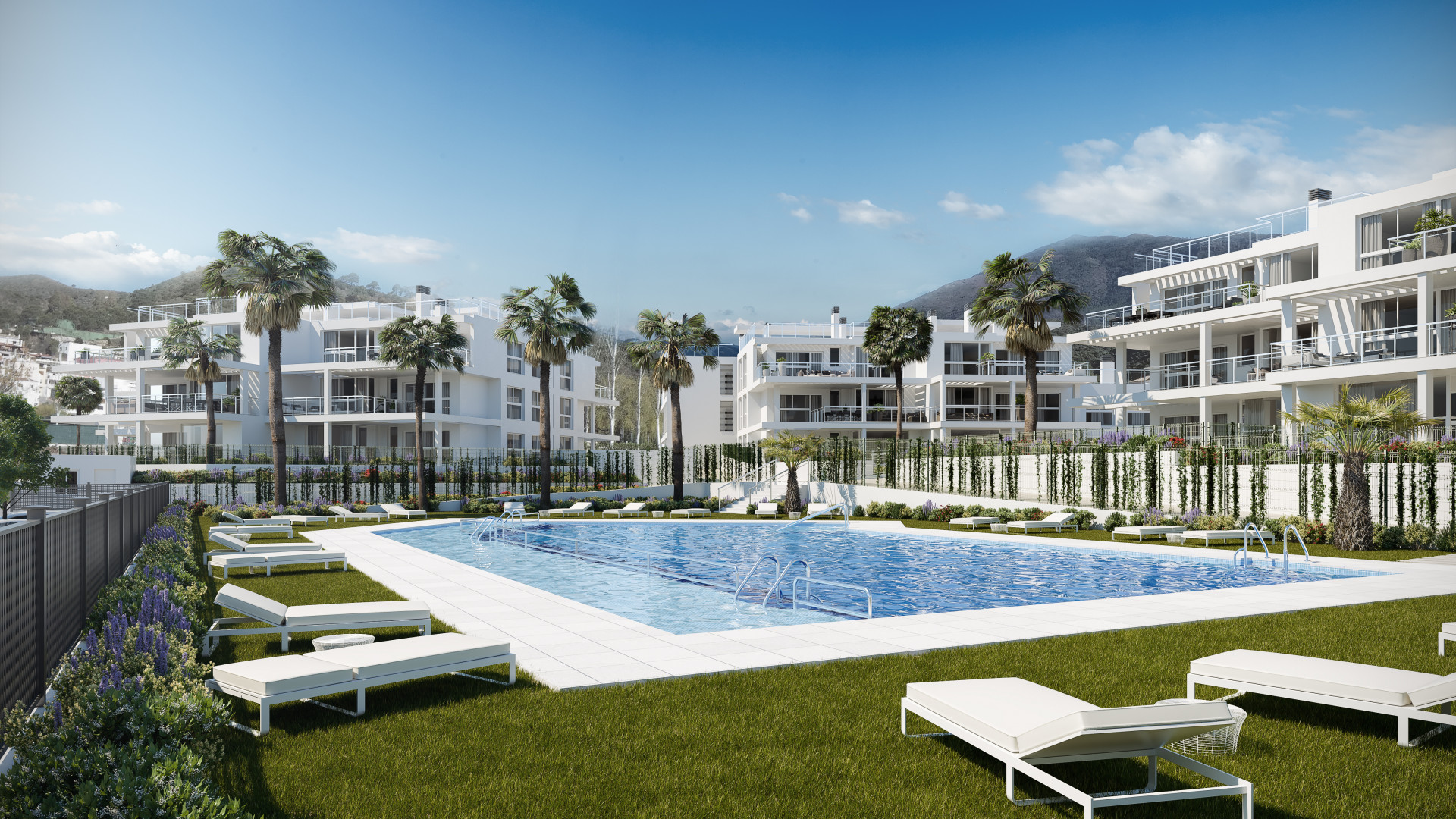 New modern contemporary apartments for sale in Benahavis